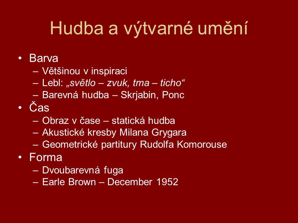 Milan Grygar Kaligrafická partitura