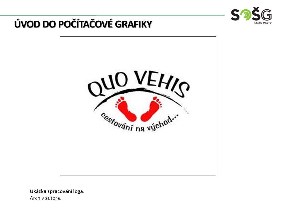 ÚVOD DO POČÍTAČOVÉ GRAFIKY Ukázka zpracování loga. Archiv autora.