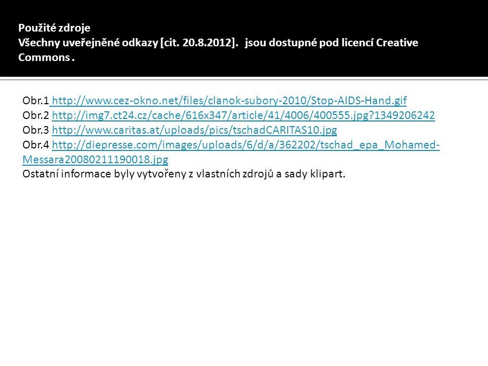 Použité zdroje Všechny uveřejněné odkazy [cit. 20.8.2012]. jsou dostupné pod licencí Creative Commons. Obr.1 http://www.cez-okno.net/files/clanok-subo
