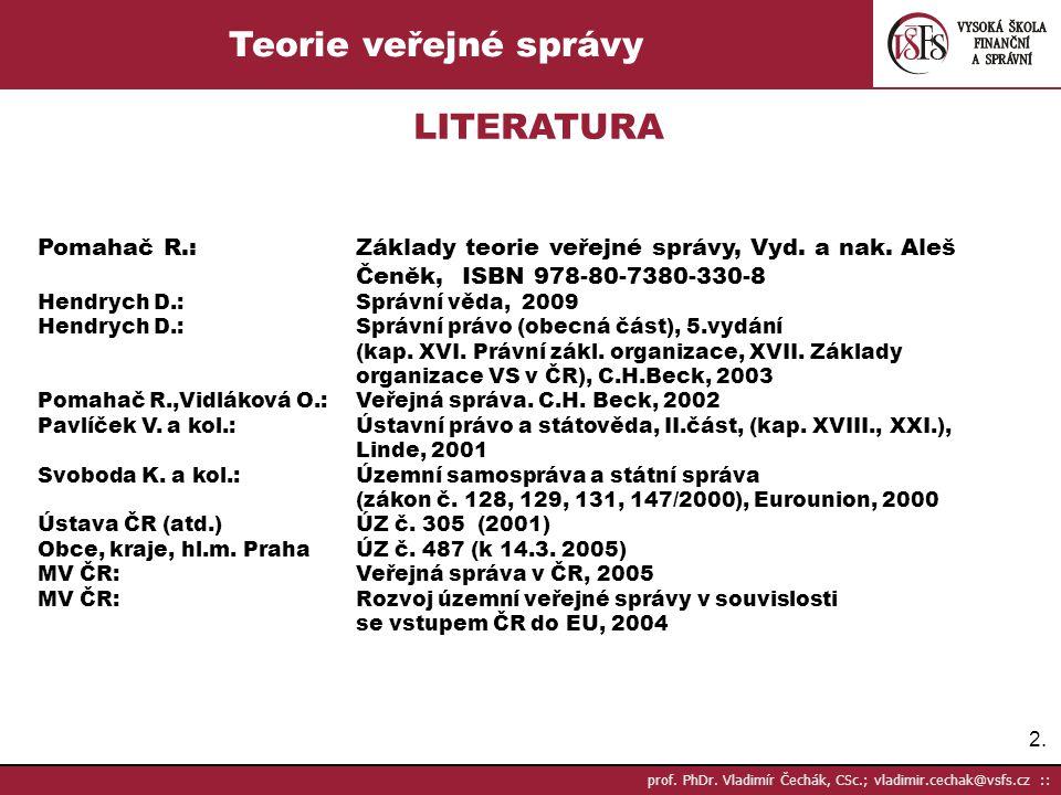 133.prof. PhDr.
