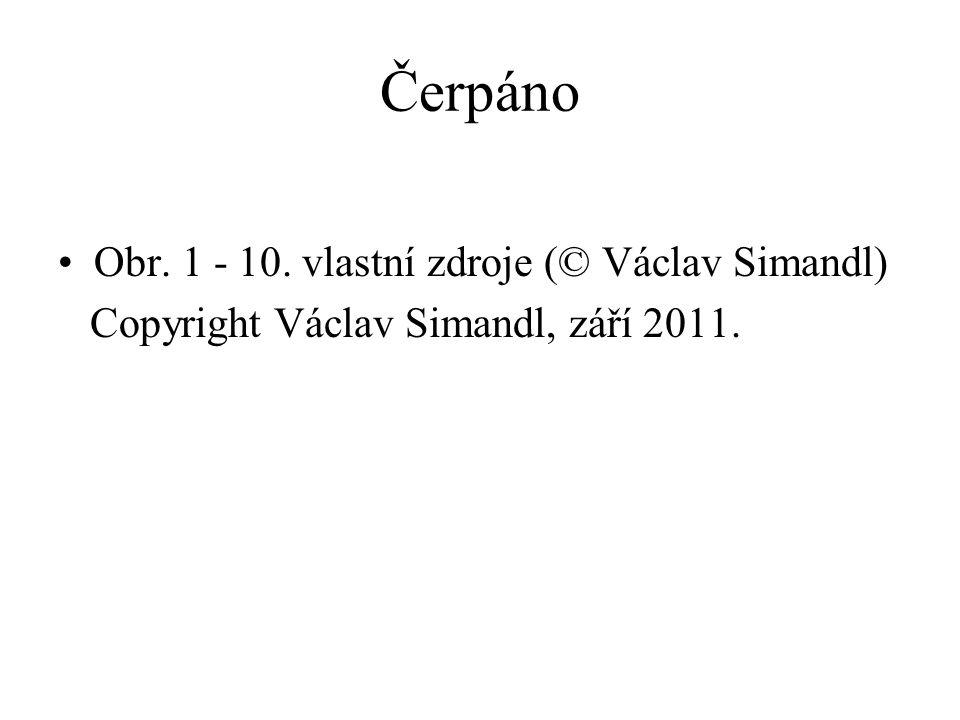 Čerpáno Obr. 1 - 10. vlastní zdroje (© Václav Simandl) Copyright Václav Simandl, září 2011.