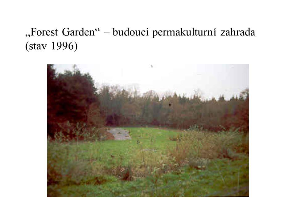 """""""Forest Garden – budoucí permakulturní zahrada (stav 1996)"""
