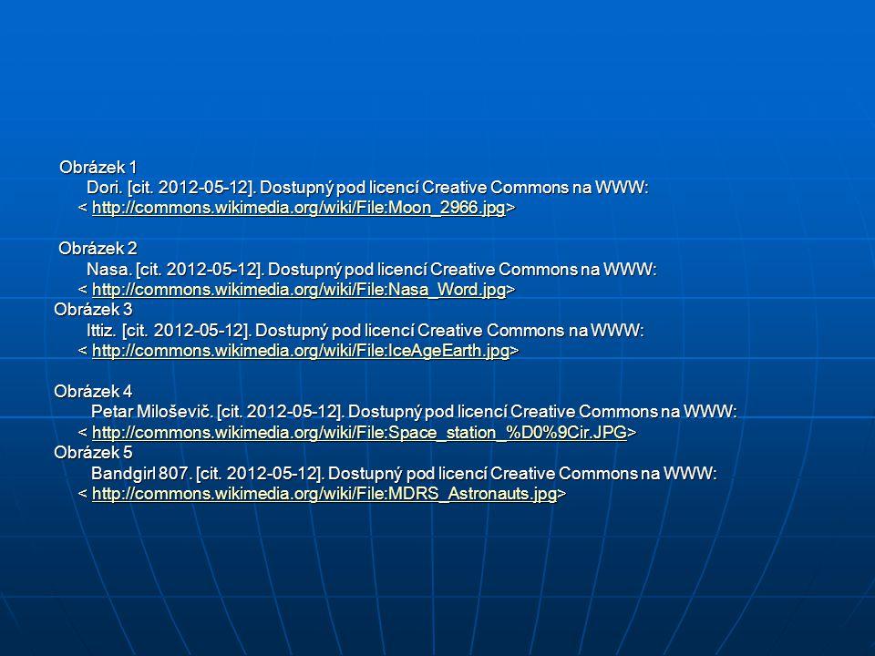 Obrázek 1 Obrázek 1 Dori. [cit. 2012-05-12]. Dostupný pod licencí Creative Commons na WWW: Dori.