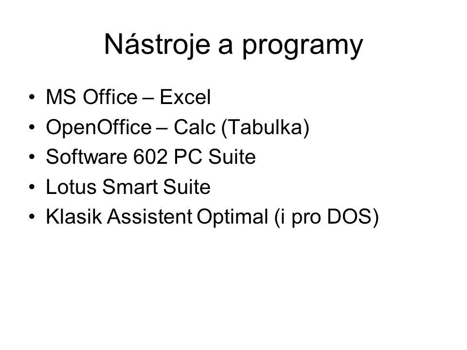 MS Excel Spuštění programu Vytvoření a uložení dokumentu Práce s listy