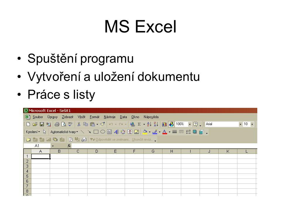 Editace buněk 1 Kurzorové šipky – pohyb po buňkách ESC – zrušení editace, vrací se původní hodnota buňky Enter – potvrzení + posun kurzoru o řádek níž Tabelátor – potvrzení + posun kurzoru doprava Pro zájemce mohu prozradit další klávesové zkratky, ale zkuste vyzkoušet sami: PageUp, PageDown, Ctrl+Šipky, End a Šipka, …