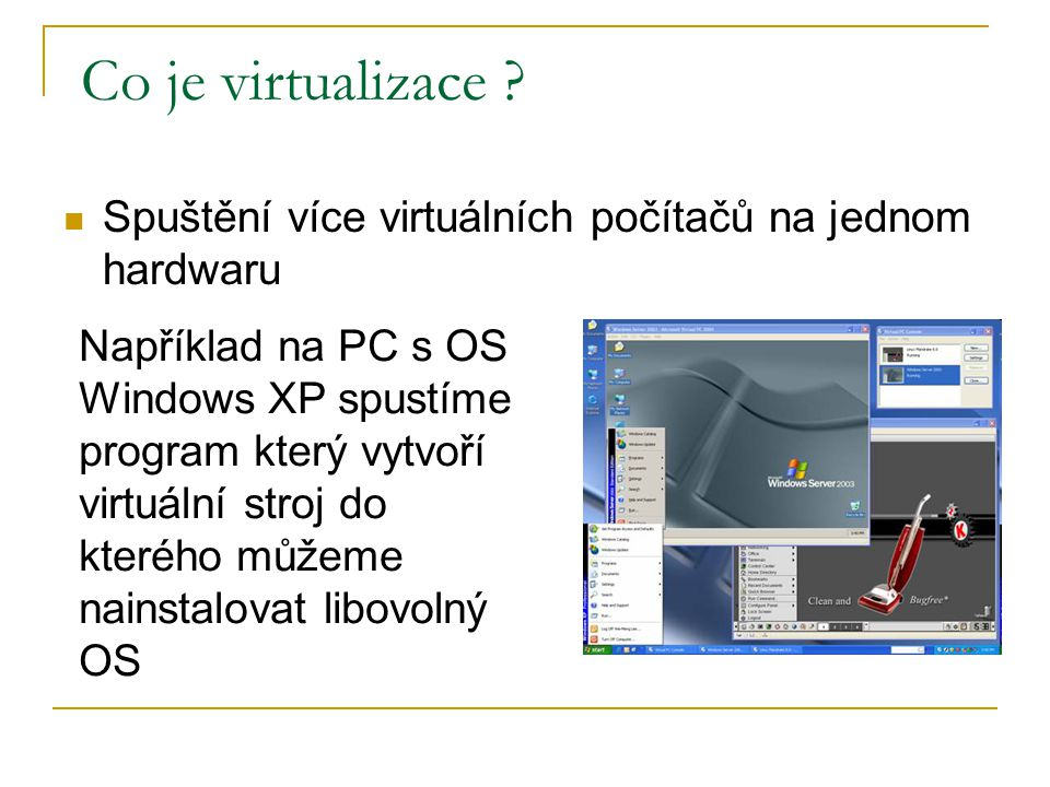 Co je virtualizace .