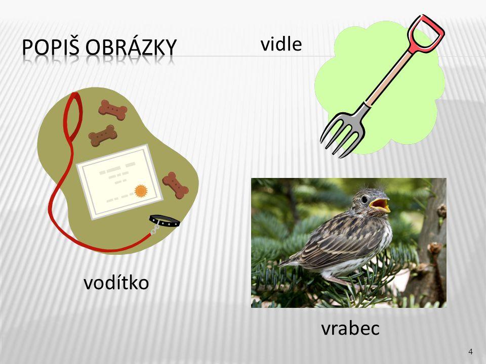 4 vodítko vidle vrabec