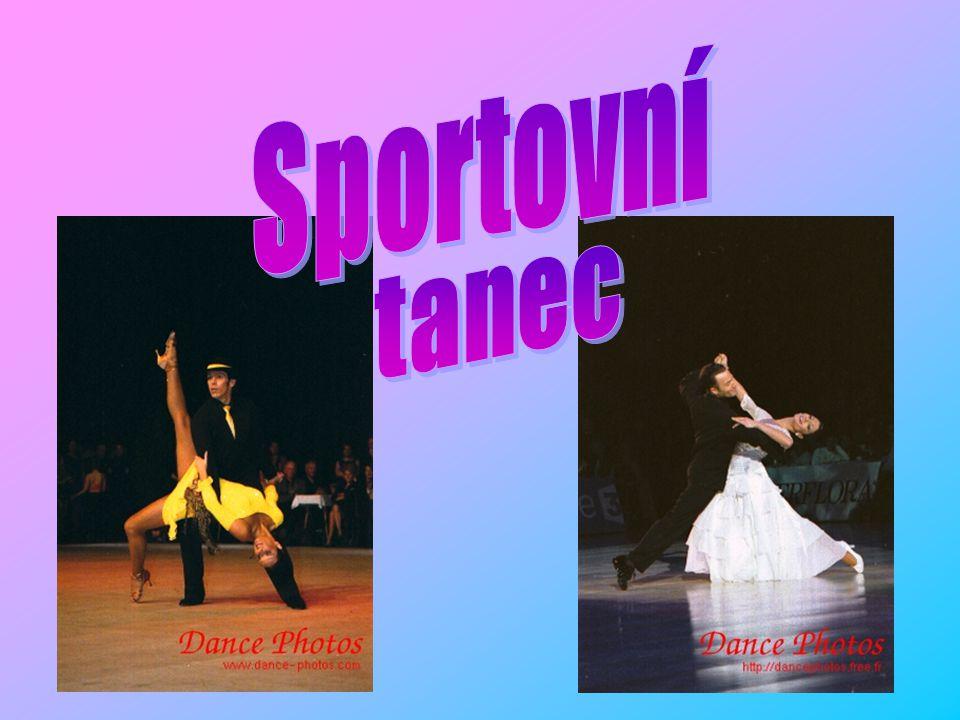 Rozdělení tanců Standardní Latinsko – americké Věkové kategorie a výkonnostní třídy