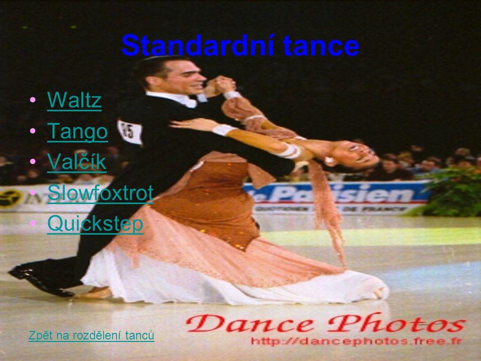 Waltz Waltz, jinak také pomalý valčík, se dostává do Evropy jako tanec Boston.