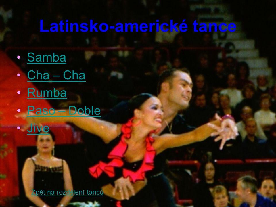 Samba Historie samby není příliš jasná.