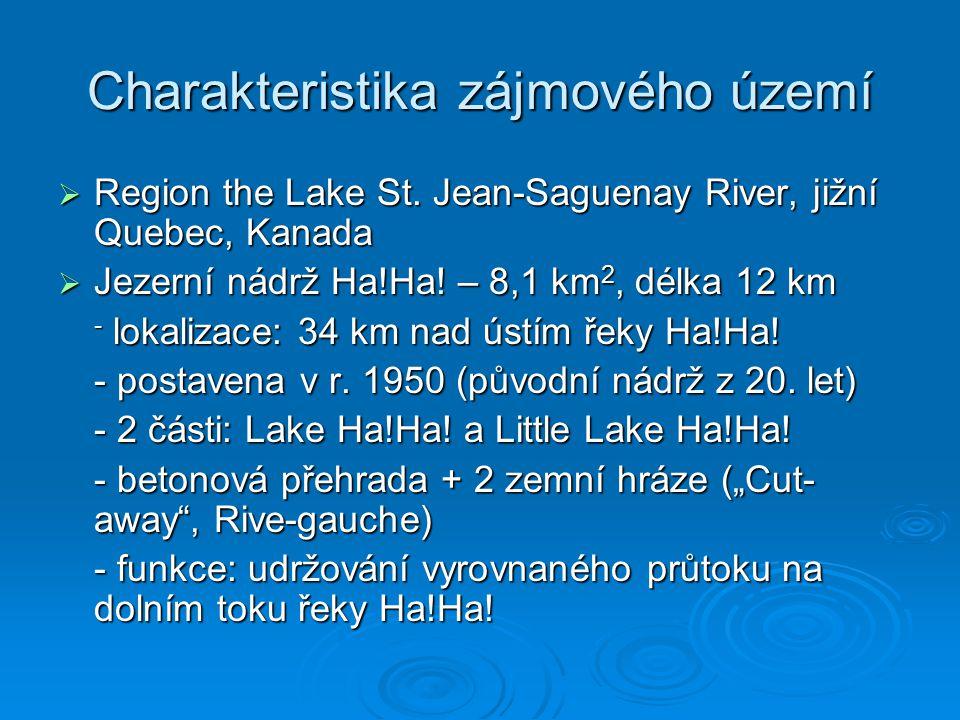 Charakteristika zájmového území  Region the Lake St.
