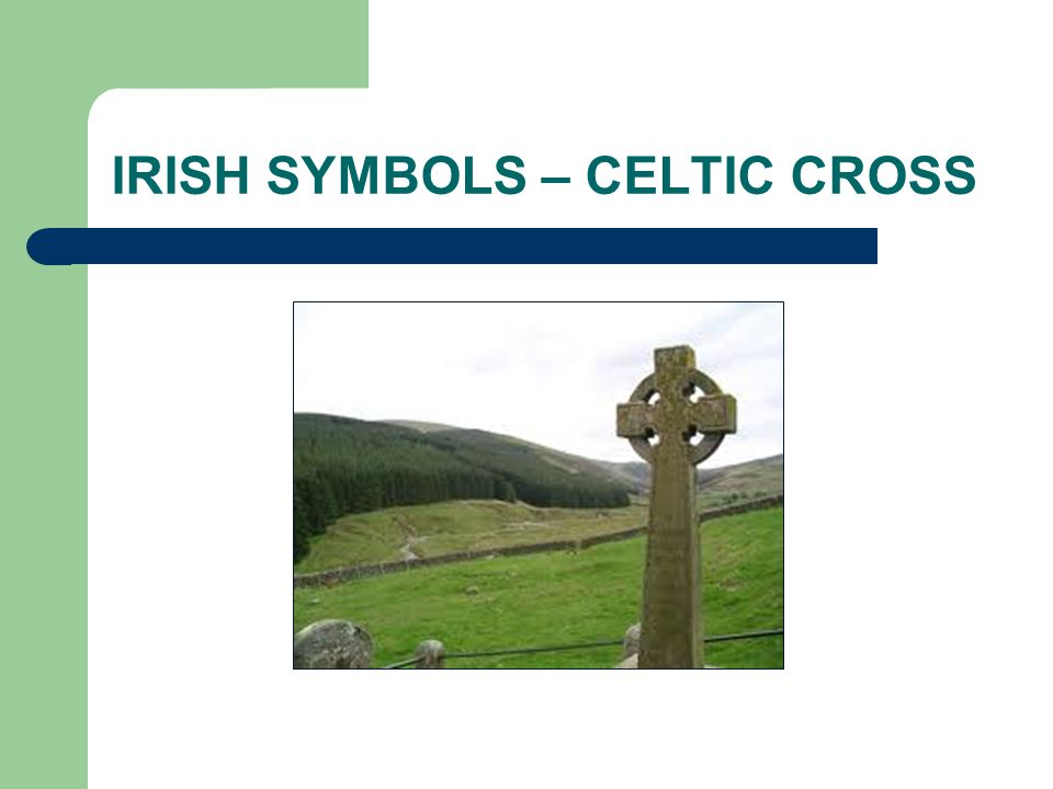 IRISH SYMBOLS – CELTIC CROSS