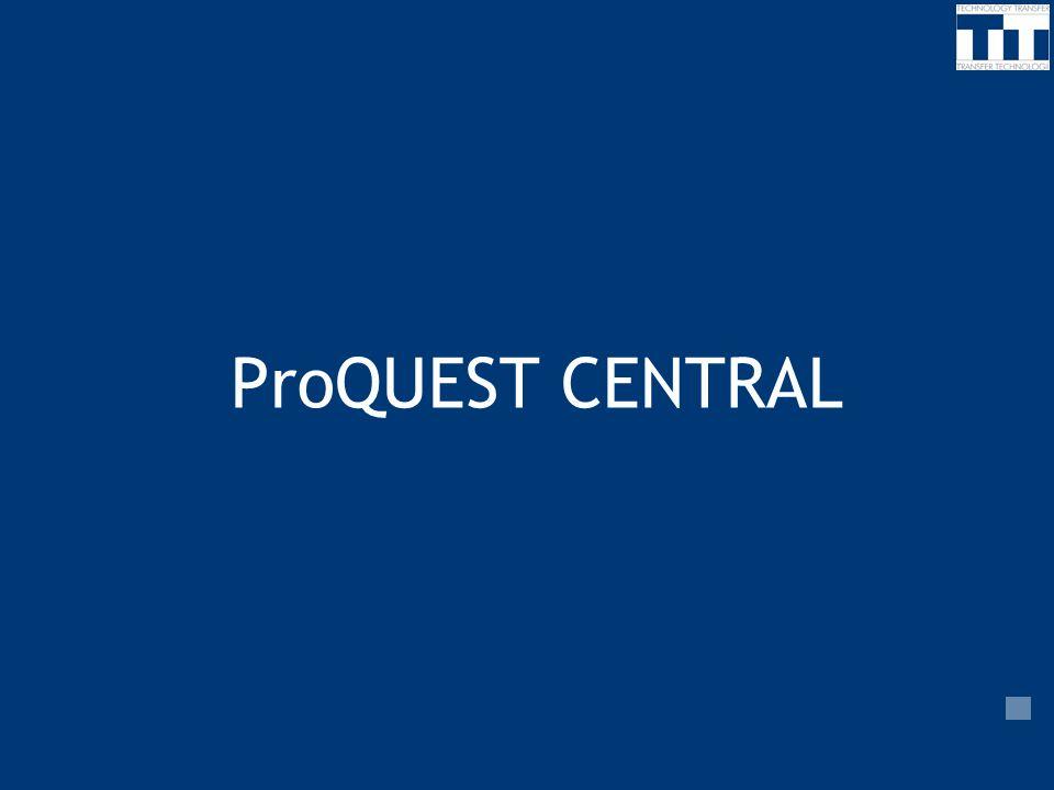 ProQUEST CENTRAL 7