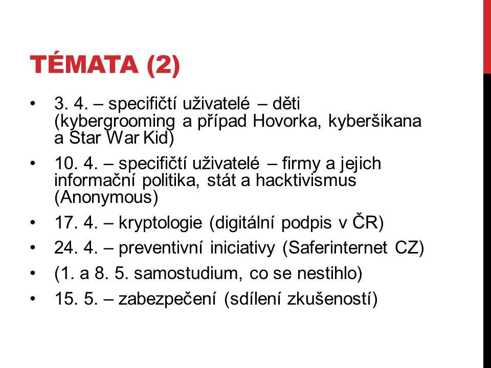TÉMATA (2) 3. 4.