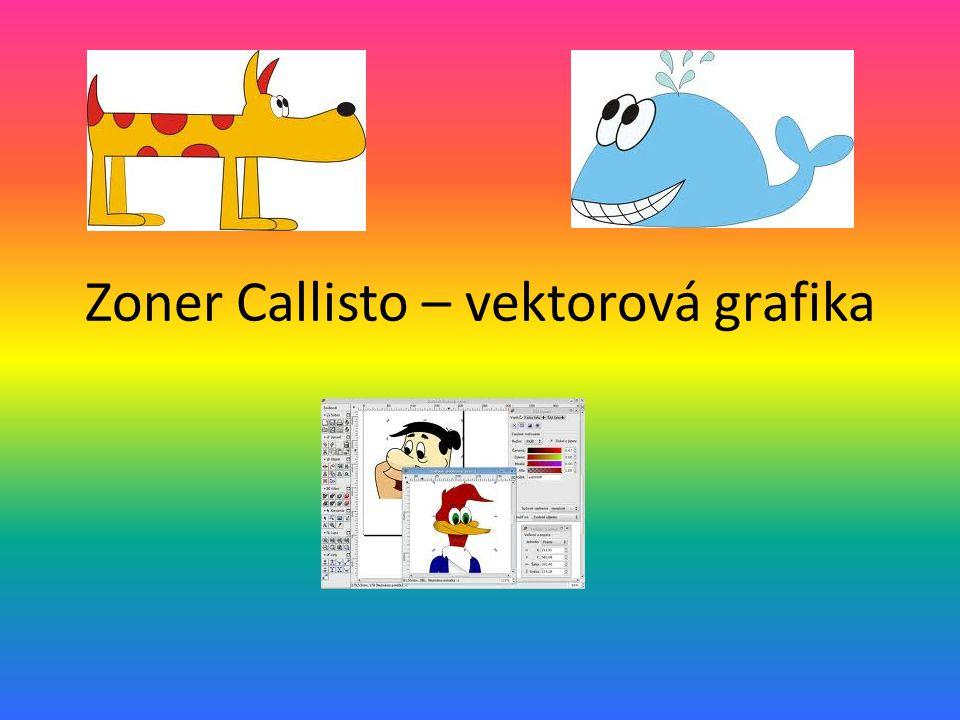 Zoner Callisto – vektorová grafika