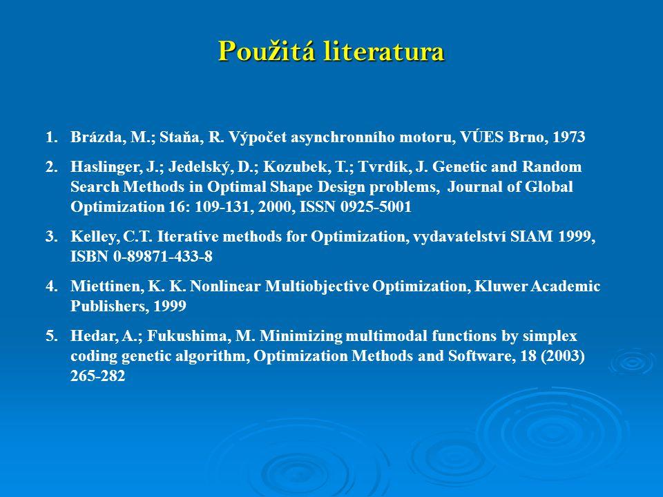 1.Brázda, M.; Staňa, R.