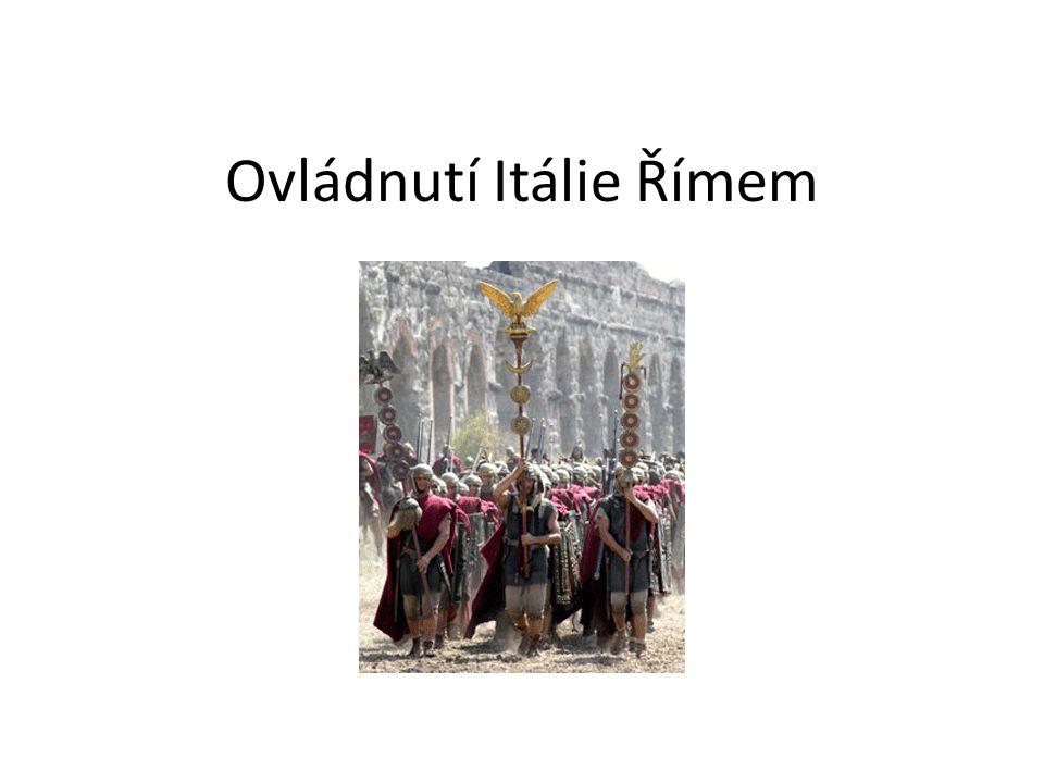 Ovládnutí Itálie Římem