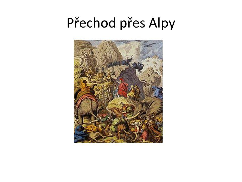 Přechod přes Alpy