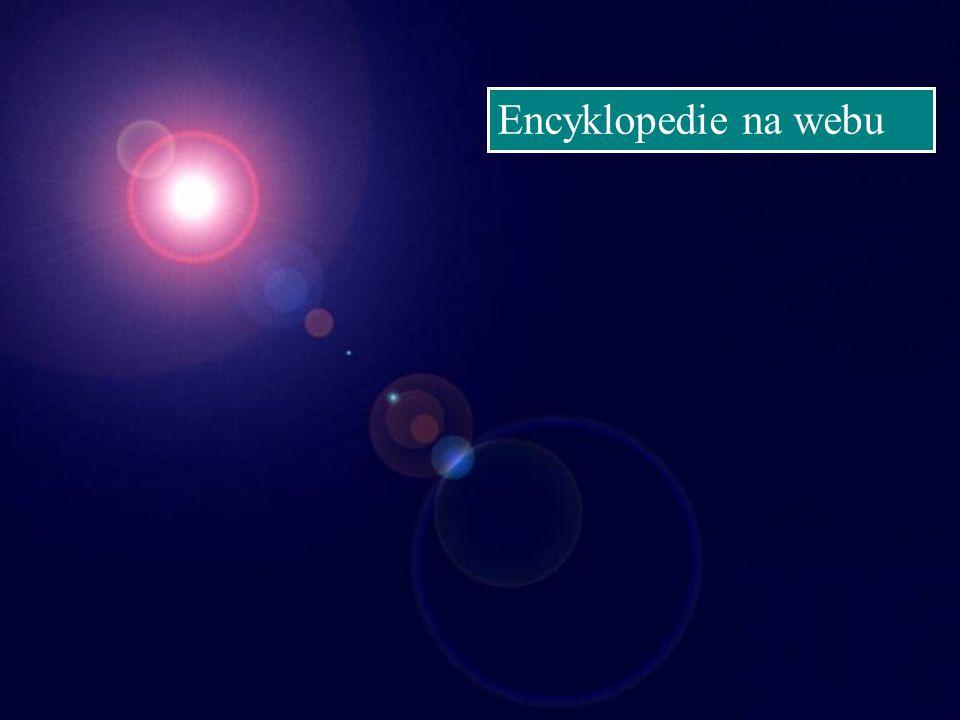 Encyklopedie na webu