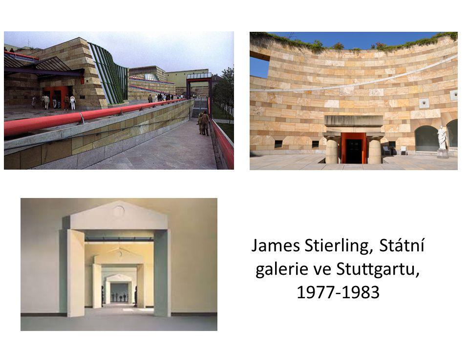 James Stierling, Státní galerie ve Stuttgartu, 1977-1983