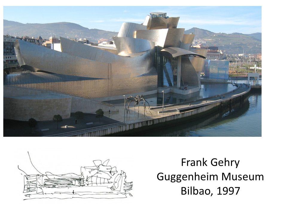Frank Gehry Guggenheim Museum Bilbao, 1997