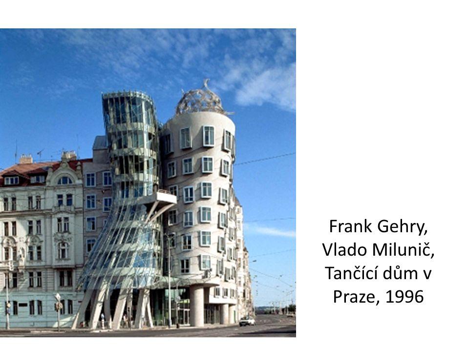 Frank Gehry, Vlado Milunič, Tančící dům v Praze, 1996