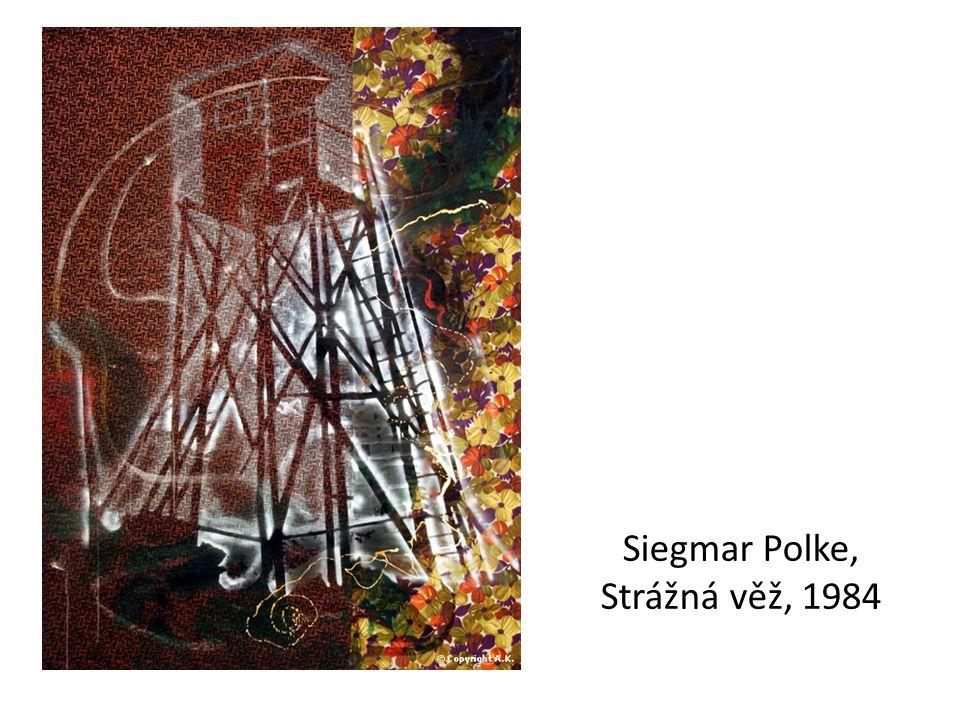 Siegmar Polke, Strážná věž, 1984