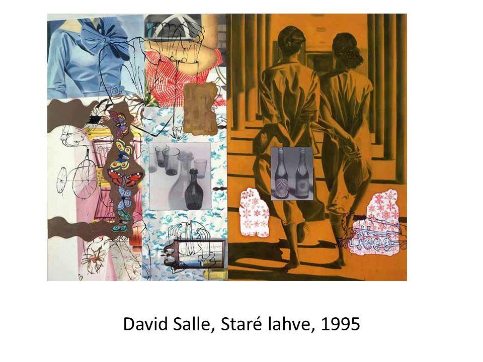 David Salle, Staré lahve, 1995