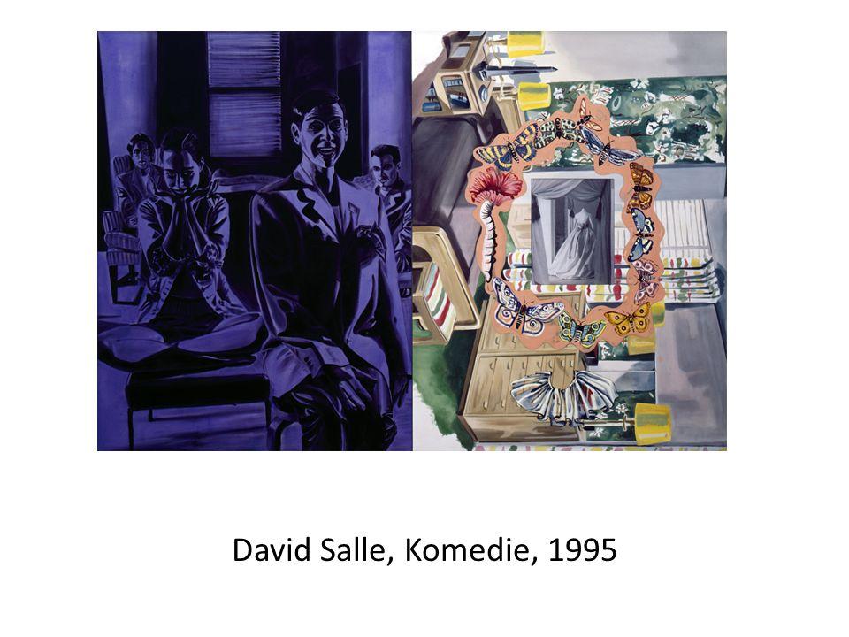David Salle, Komedie, 1995