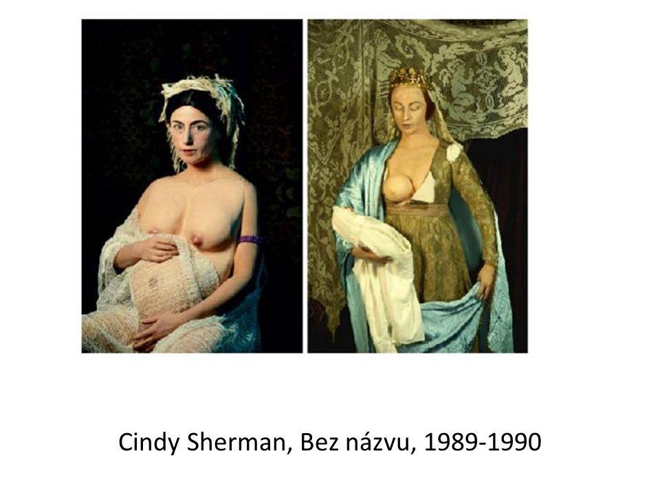 Cindy Sherman, Bez názvu, 1989-1990