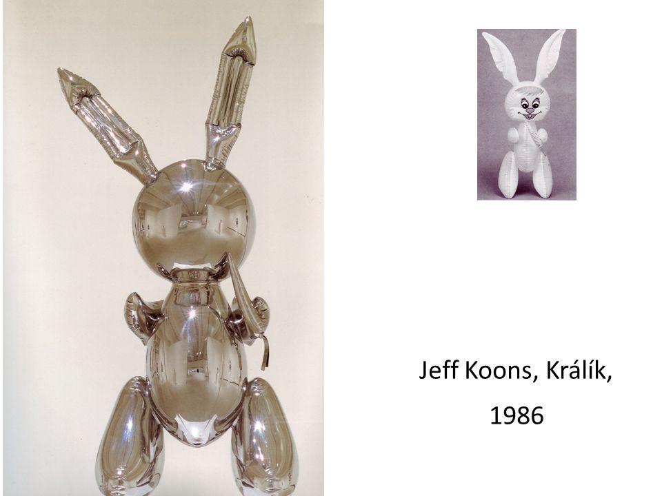 Jeff Koons, Králík, 1986