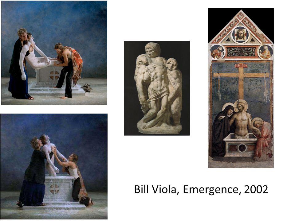 Bill Viola, Emergence, 2002