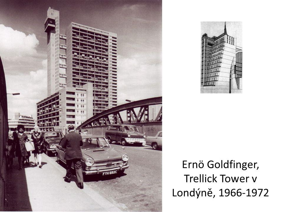 Ernö Goldfinger, Trellick Tower v Londýně, 1966-1972