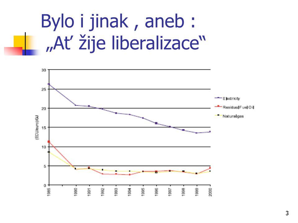 "3 Bylo i jinak, aneb : ""Ať žije liberalizace"