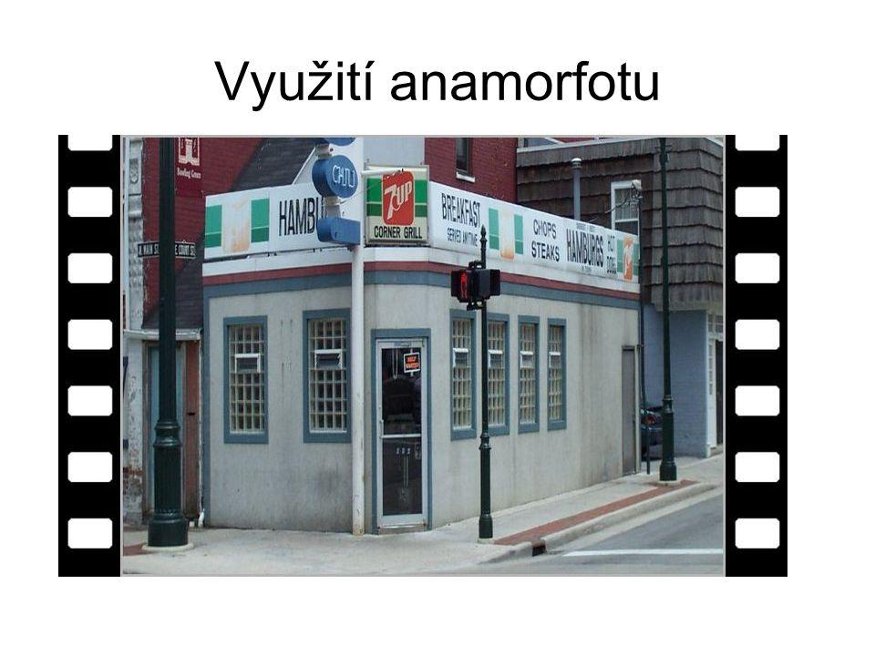 Využití anamorfotu