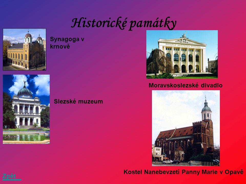 Okresy Bruntál Opava Ostrava Frýdek místek Karviná Zpět