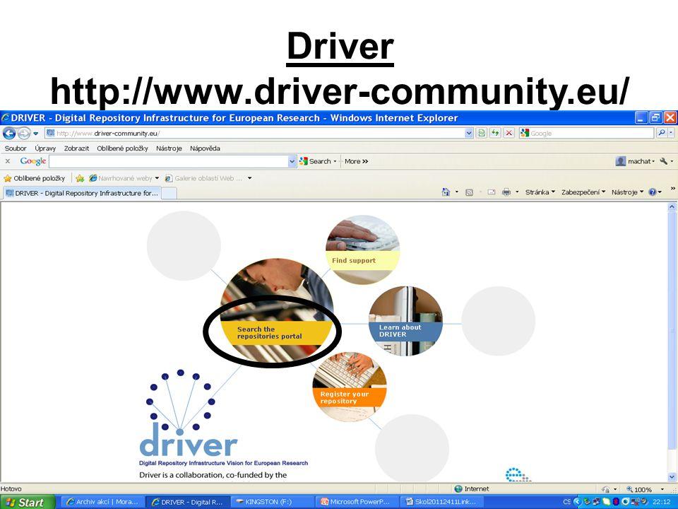 Driver http://www.driver-community.eu/
