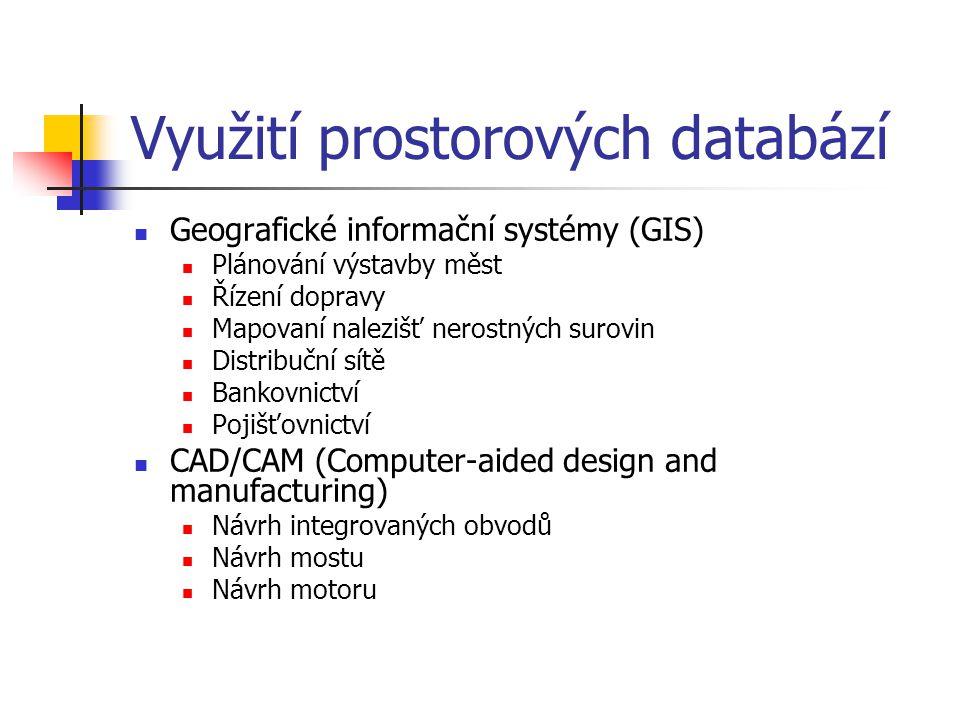 Používaná data Vrstvy komunikací z ŘSD Arc ČR 500 Vyhláška 58/1997 sb.