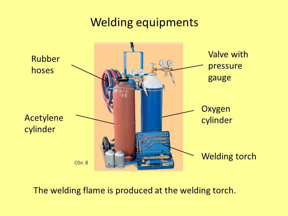 Welding equipments Obr.