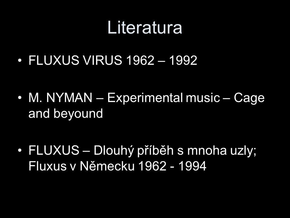 Literatura FLUXUS VIRUS 1962 – 1992 M.