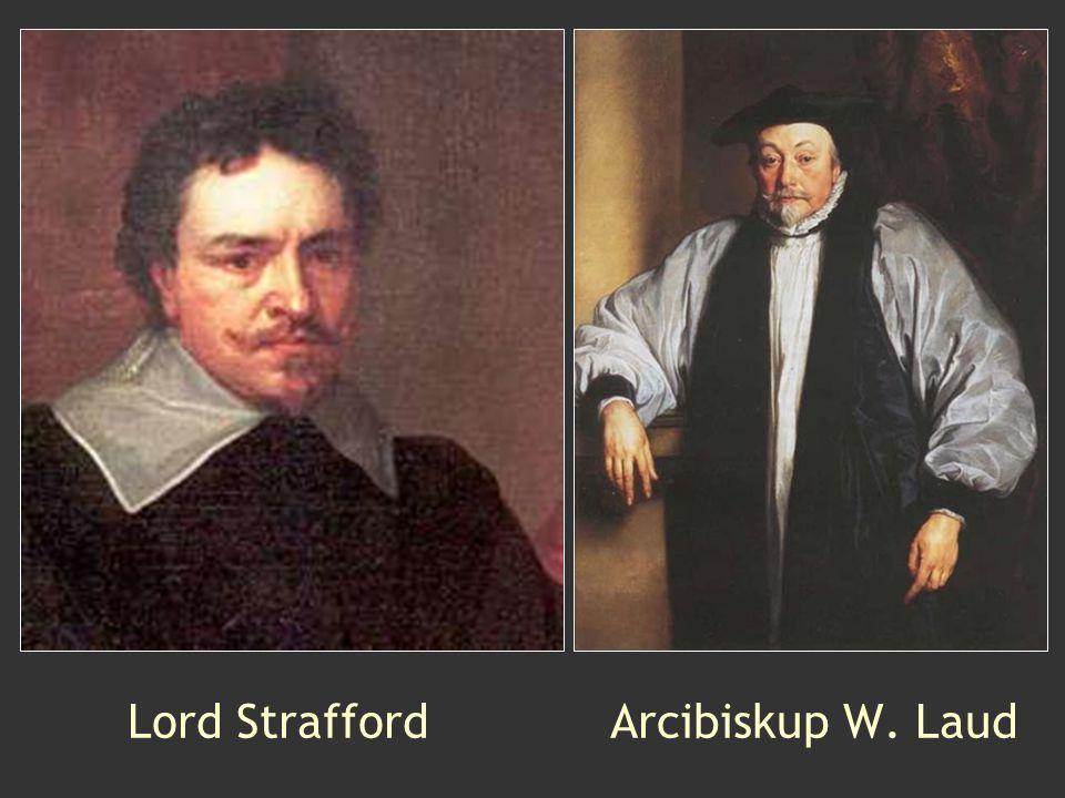 Lord Strafford Arcibiskup W. Laud
