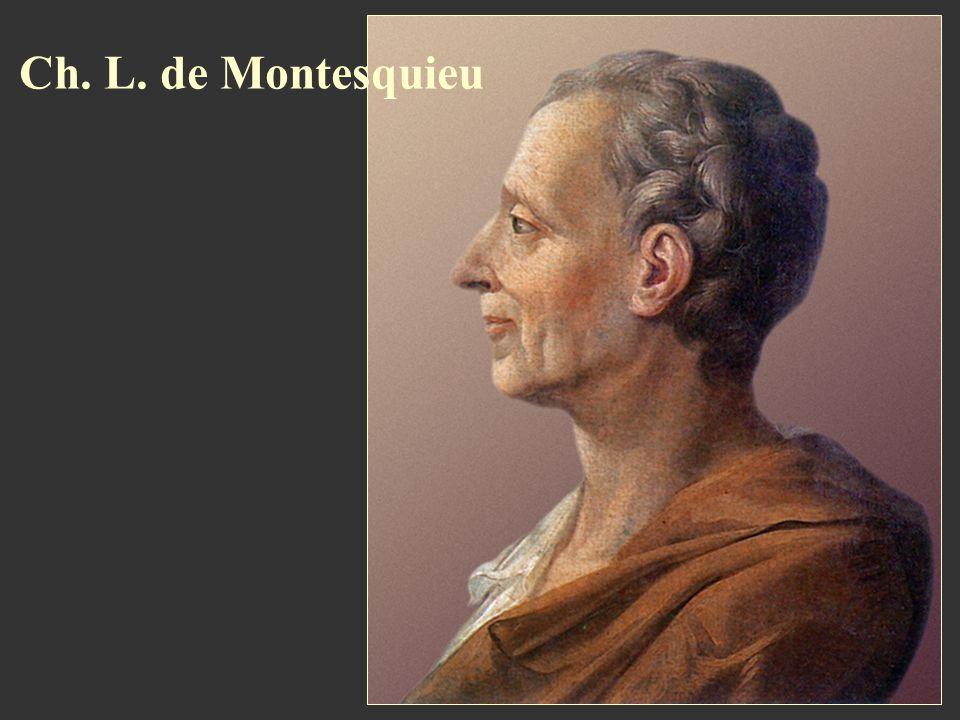 Ch. L. de Montesquieu