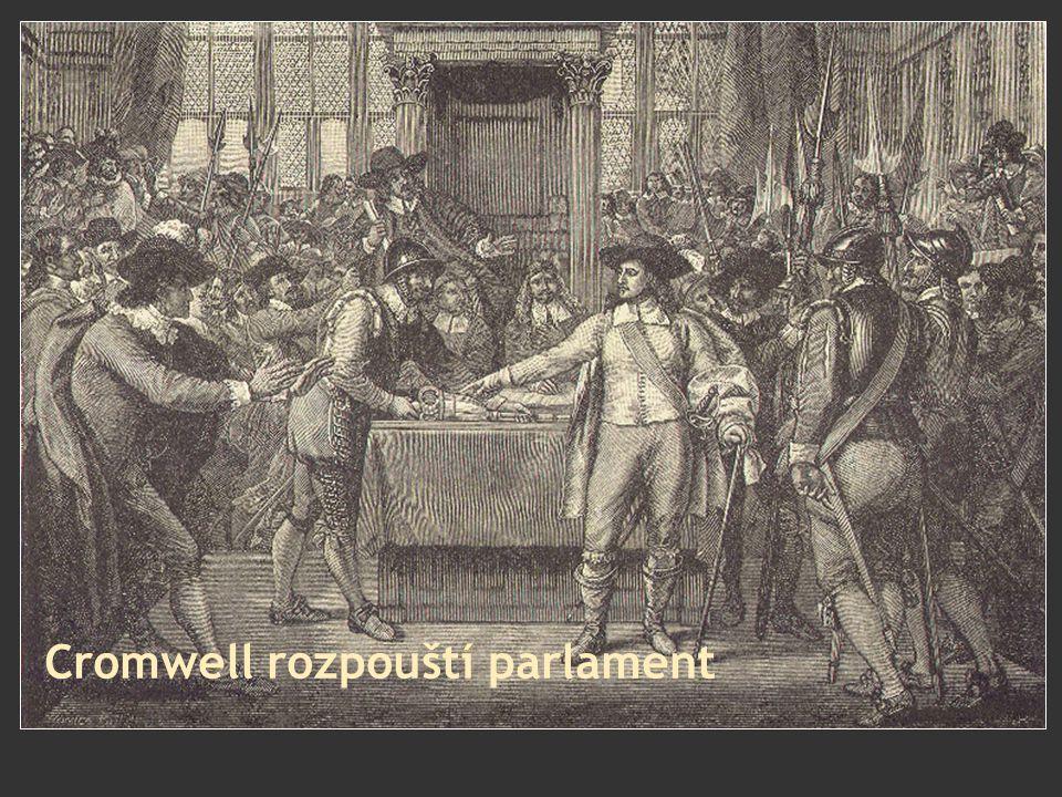 Cromwell rozpouští parlament