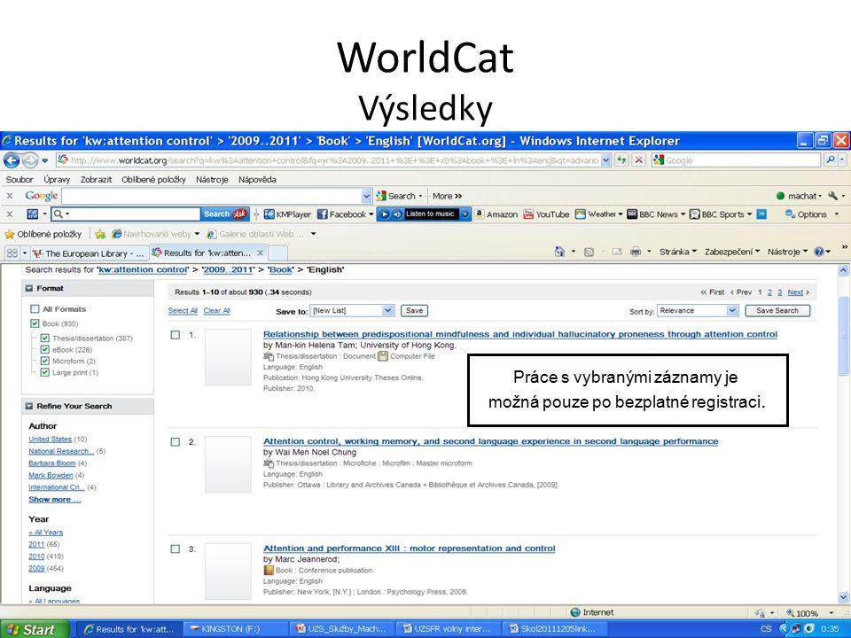 WorldCat Záznam