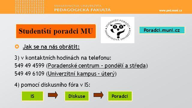 www.ped.muni.cz  Datum konání: 2.3.– 9.3.