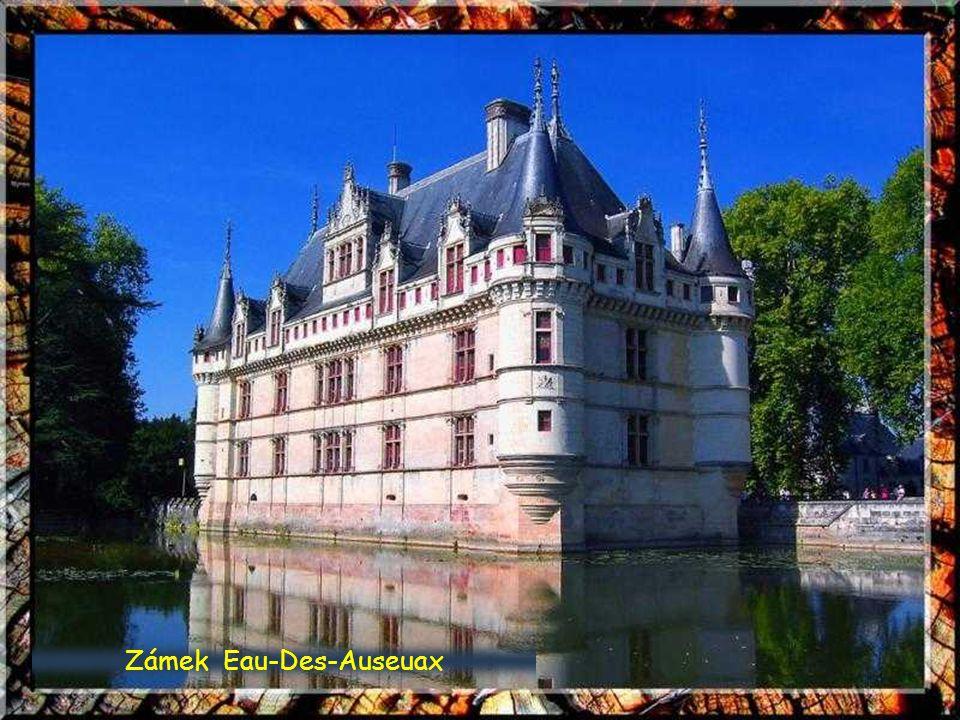 Zámek Chenonceaux, údolí řeky Loire
