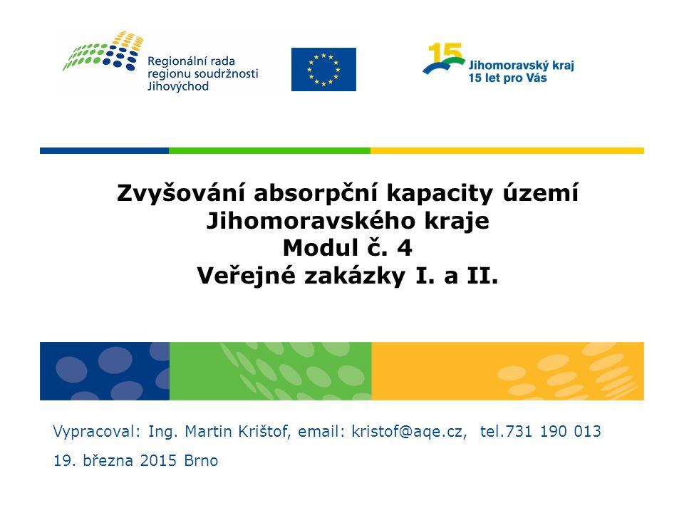 Děkuji za pozornost Ing. Martin Krištof email: kristof@aqe.cz tel.: 731 190 013
