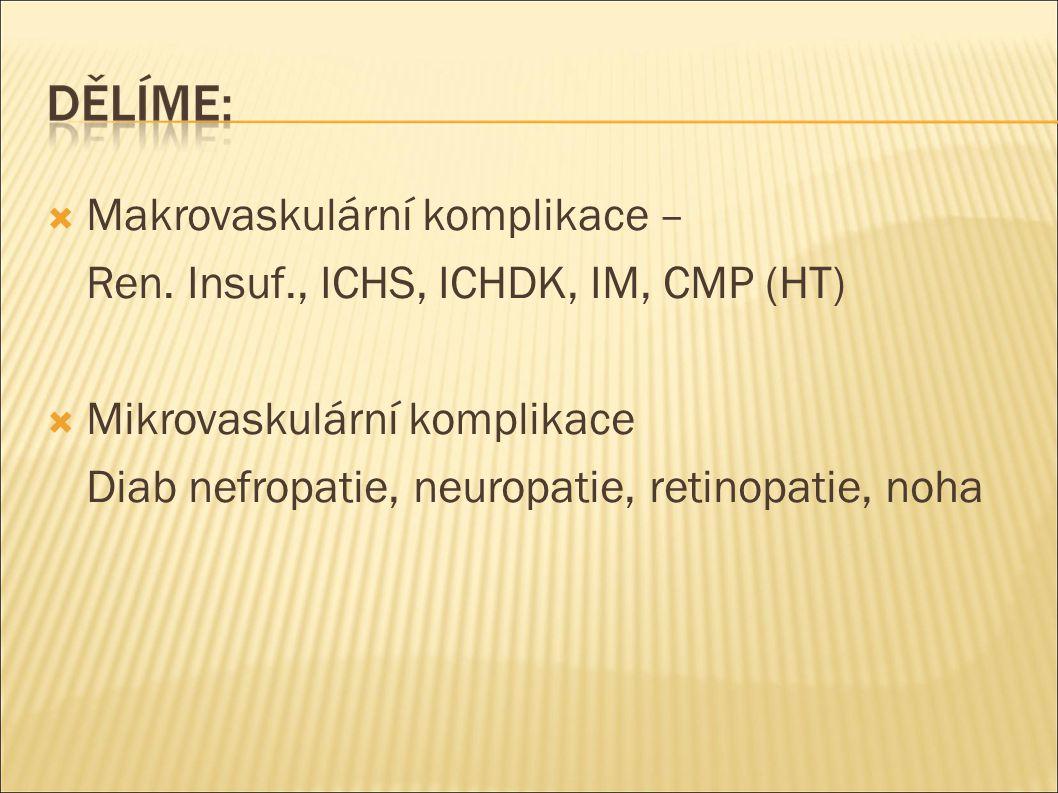  Makrovaskulární komplikace – Ren.