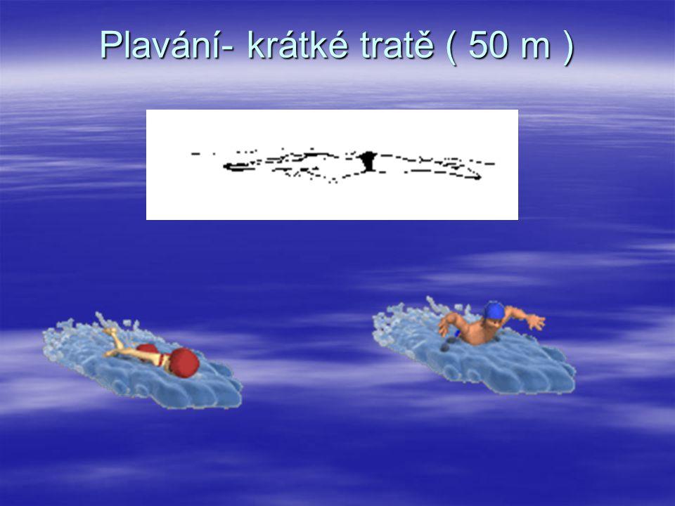 Plavání- krátké tratě ( 50 m )