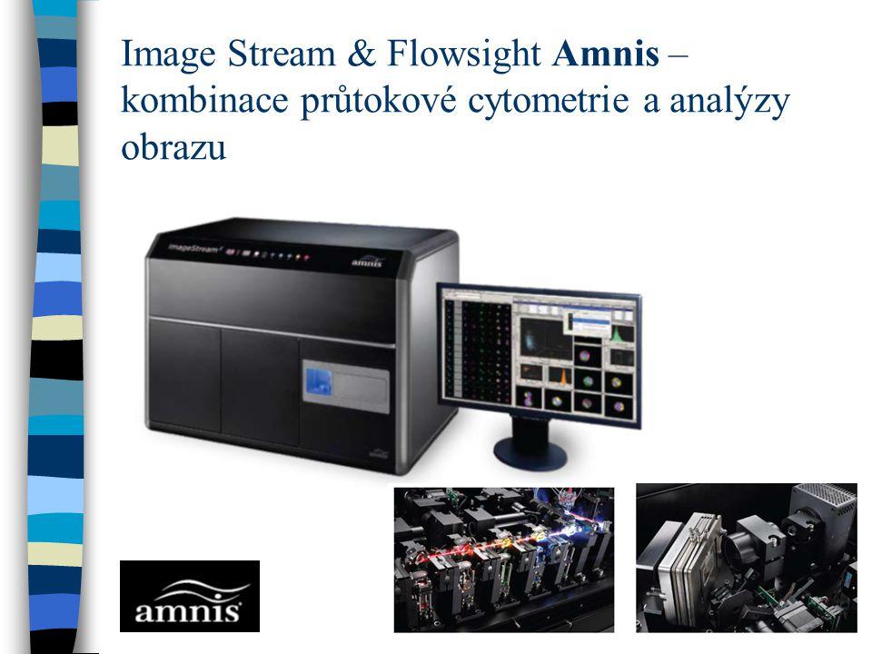 Image Stream & Flowsight Amnis – kombinace průtokové cytometrie a analýzy obrazu